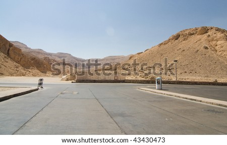 The Valley of the Kings in Luxor, Egypt - stock photo
