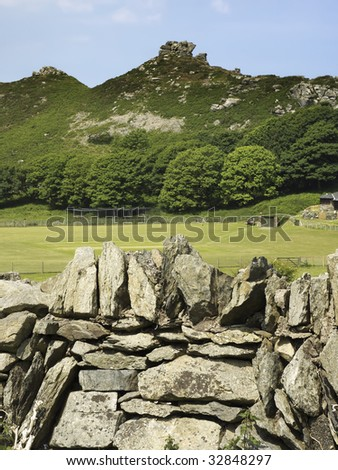 the valley of the rocks lynton in devon