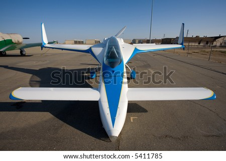 The Vari-EZ is a home built canard (tail first) Burt Rutan design