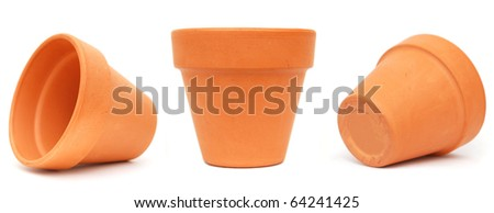 The vase pots on edge