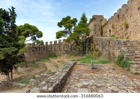 The Venetian Castle of Nafpaktos, Greece
