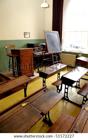 The very old school tables