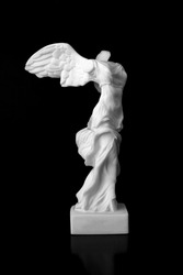 The Victory of Samothrace is a marble sculpture of an unknown artist of the Hellenistic period found in the temple of the