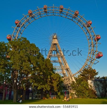 The Vienna big wheel