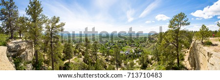 Shutterstock The view from the top of the sandstone bluffs surrounding Billings, Montana.