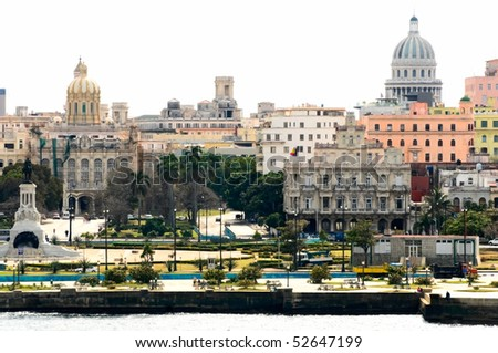 the view of Havana, Cuba