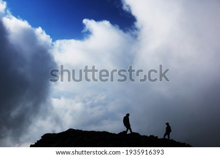 the view of the summit of Mt.kasa, Northern Alps,nagano prefecture,japan Zdjęcia stock ©