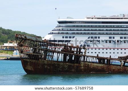 Sunken Cruise Ships - Sunken cruise ships