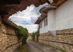 The village of Arbanasi, Bulgaria