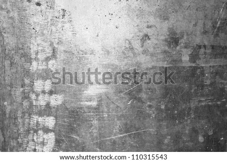 The vintage rusty grunge iron textured background