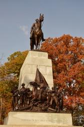 The Virginia State Monument at Gettysburg National Military Park, Gettysburg, Pennsylvania