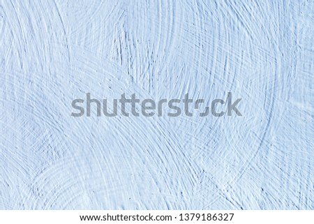 The wall are painted light blue. Abstract background. #1379186327