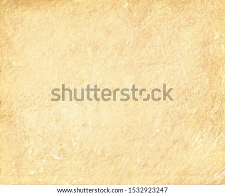 The wall is faced with beige plaster with scratches and rough roughness .Textures or background #1532923247