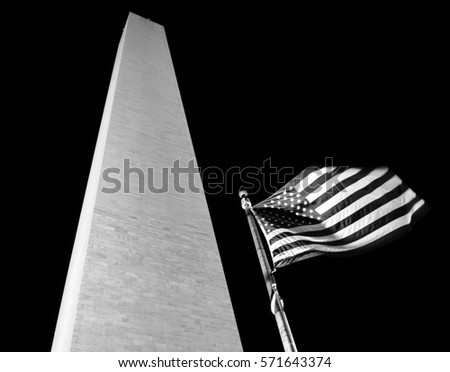 the washington monument and...