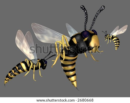The wasps 3d