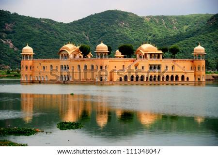 The Water Palace Rajasthan Jaipur India