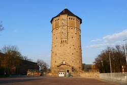 The water tower Hanover is a 62 m high and listed former water tower in Hanover. When it was completed in 1911, it was considered the largest water tower in Europe.
