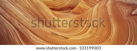 The Wave, Sandstone Formation, Kenab, Utah