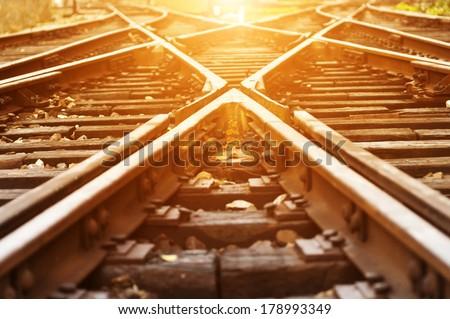 The way forward railway #178993349