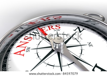 the way towards answers indicated by compass