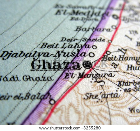 The way we looked at Ghaza in 1949.