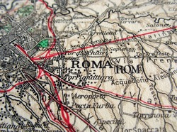 The way we looked at Rome in 1949.