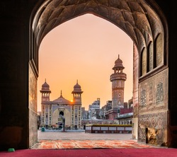 The Wazir Khan Mosque is considered to be the most ornately decorated Mughal-era mosque in Lahore, Pakistan