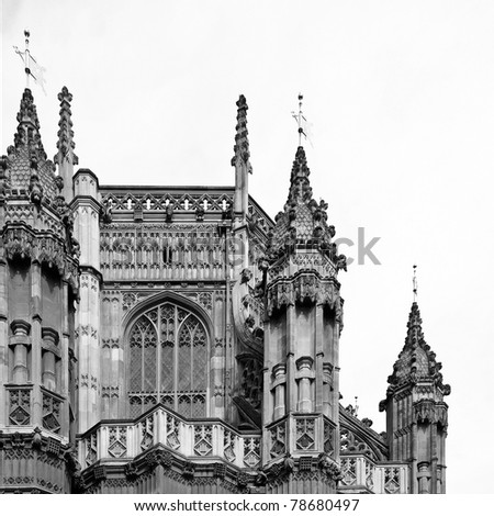 the westminster abbey church in ...