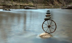 The wheel turn