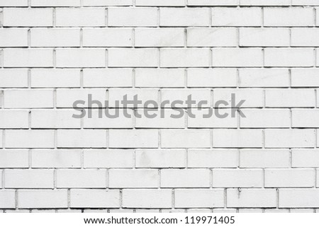 the White brick wall, perfect as a background