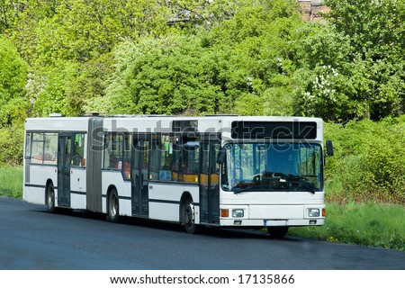 The white city bus