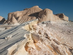 The white desert in western Egypt is a breathtaking place. Great limestone sculptures and the white ground, open gigantic views on that former ocean bed.