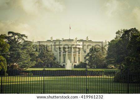 the white house in washington...