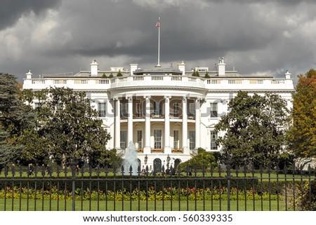 The White House in Washington DC, United States #560339335