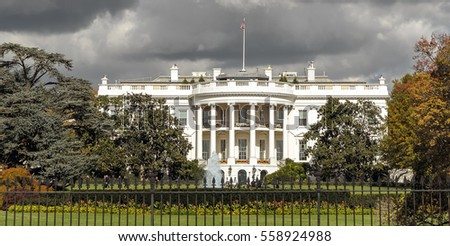The White House in Washington DC, USA #558924988