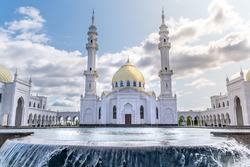 The White mosque in Bulgar Tatarstan