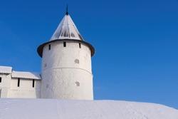 The White Stone Kremlin is an architectural monument of Kazan, Tatarstan Republic, Russia.