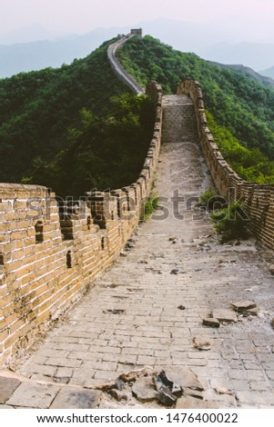 The Wild Great Wall of China