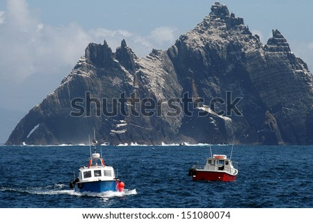 The wild Skellig Islands #151080074