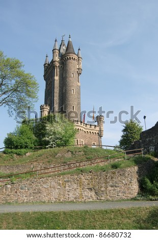 "the ""Wilhelmsturm"" at Castle Dillenburg in Germany"