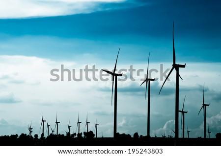 The wind turbine generator,the renewable energy