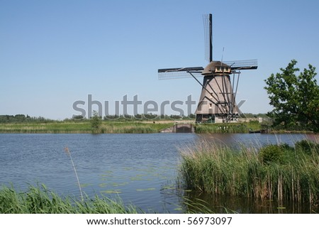 The windmills of Kinderdijk are one of the best known Dutch tourist sites. They were placed on the list of UNESCO list of World Heritage Sites in 1997.