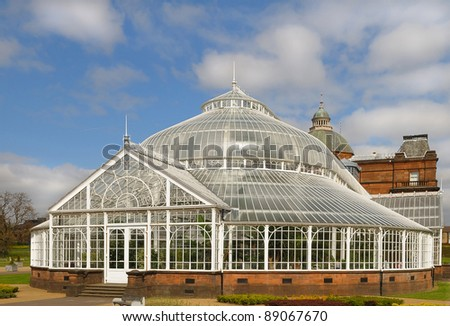The Winter Garden at the People's Palace, Glasgow Green.