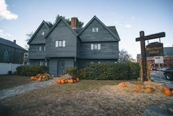 The Witch House. Salem, Massachusetts, USA.