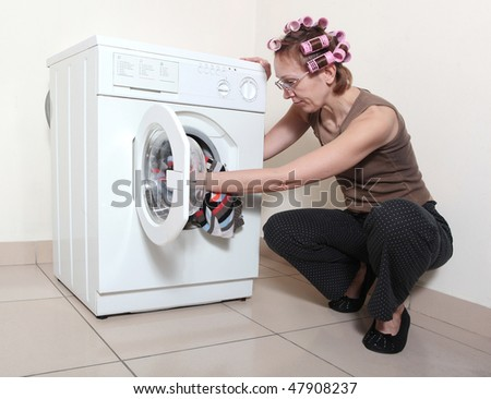 how to get hair out of washing machine