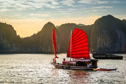 The wonderful Ha Long Bay, Unesco world heritage in Vietnam