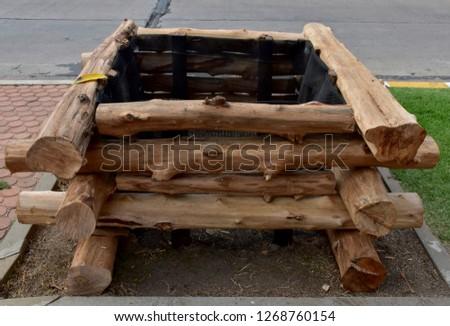 the wood overlap made it a square shape hole #1268760154