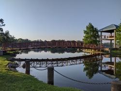 The Woodlands Southshore Park Bridge