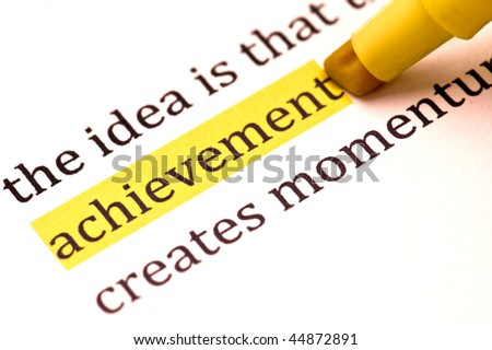 Achievement Clipart Achievement Word Clipart