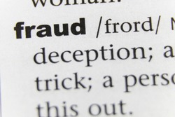 The Word Fraud Close Up